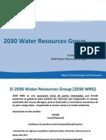 El 2030 Water Resources Group (2030 WRG)