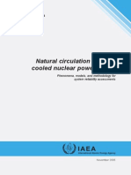 Natural Circulation in Water Cooled Nuclear Power Plants- Phenomena, Models, And Methodology for System Reliability Assessments