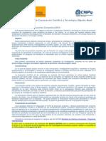 Anuncio Convocatoria de Proyectos Bilaterales Hispano Brasilenos