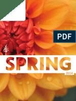 Spring 2014 Timber Press Catalog