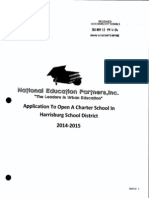 NEP Charter School Application 2013