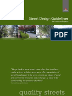 Street Design Guidelines