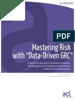 White Paper Data Driven GRC