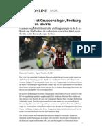 Europa League Frankfurt Freiburg
