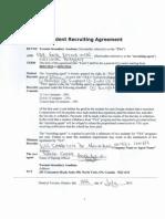 toronto college international agreement