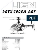T-Rex 450SA Arf Manual