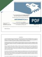 INFORMÁTICA II
