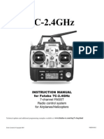 Futaba 7c 2 4ghz Manual