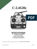 Futaba 7c 2 4ghz Manual