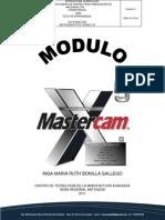 Tuto Mastercam X5