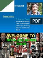 Shanker Thapa's Cultural and Folk Masks of Nepal PPT