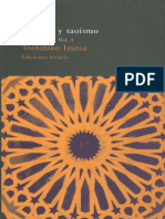 Izutsu Toshihiko - Sufismo Y Taoismo 01