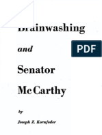 Brainwashing and Senator McCarthy
