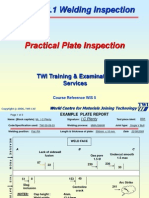 CSWIP Welding Inspection Plate Section Practical - Copy