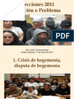 Análisis marzo 2011, Huehuetenango