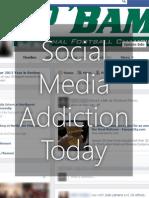 Social Media Addiction Today