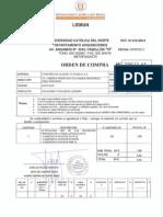 Orden de Compra 258 Gps Tattersal