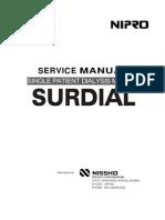 Surdial Service Manual