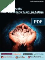 eBook Tata Cara Wudhu Nabi Full