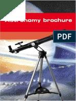 Astronomy Brochure English