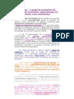 11 o Projecto Pombalino de Inspiracao Iluminista Modernizacao Do Estado e Das Instituicoes