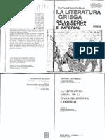 Cantarella, Rafaelle - La literatura griega de la época Helenistica e Imperial