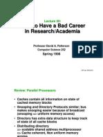 Bad Career
