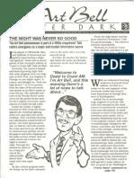 Coast to Coast Am - Afterdark Newsletter - 1995-01 - January