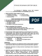 Teknik Akuntansi Keuangan Sektor Publik