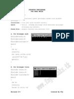 Borland C++ Part 7