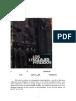 Los Lenguajes Perdidos - Philip Ellabay Cleator