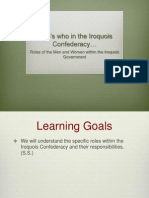 iroquois roles