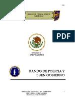 Bando de Policia y Buen Gobierno - IRAPUATO