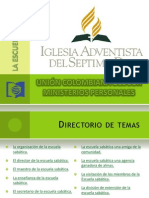 Manual de Entrenamiento para Escuela Sabática