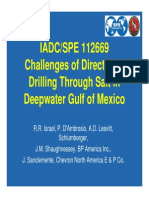 2009 Drlg Challenges in Directional Gulf