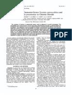 Elimination Klebsiela Pulmonae Chlorine Dioxide