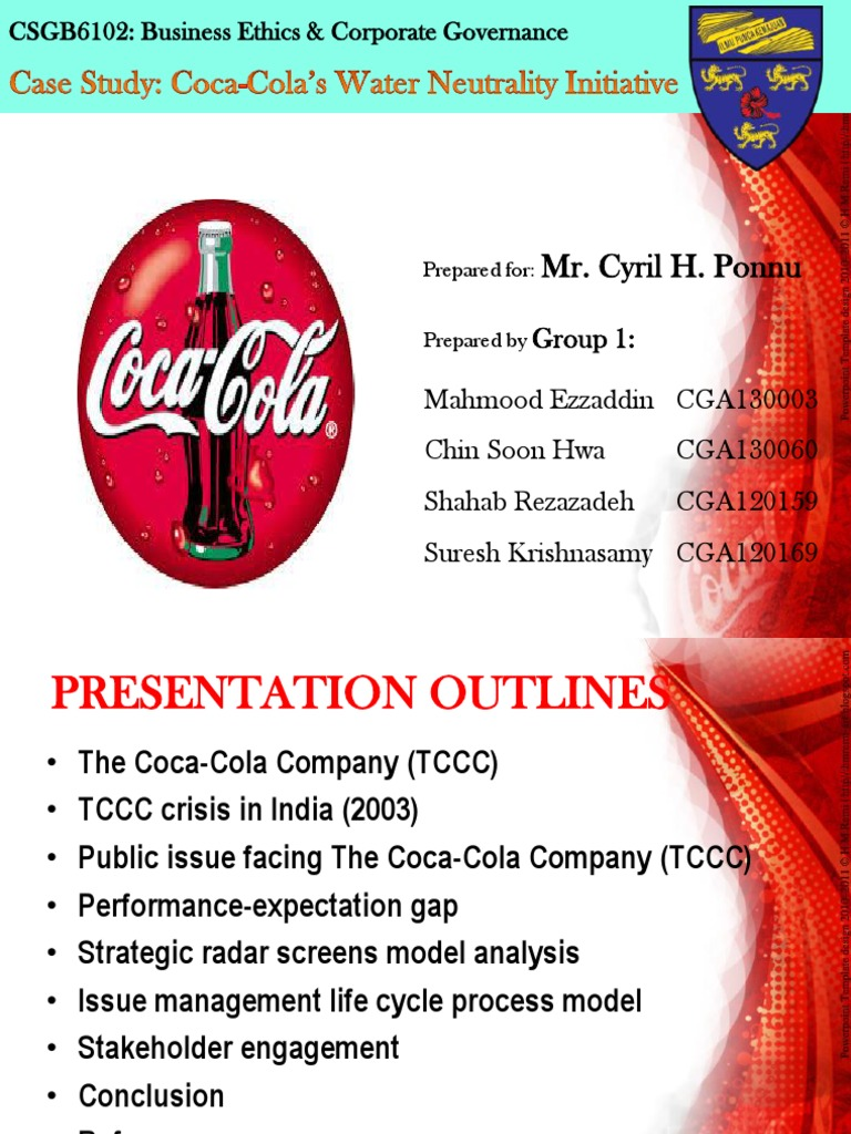 coca cola stakeholders analysis