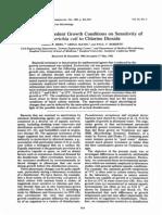 Efectos de Crecimiento de e Coli Con Chlorine Dioxide