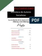 La revolución de la ciencia de Eugenio Dühring _Anti-Dühring_