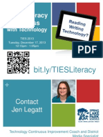 Literacy and Technology Breakout