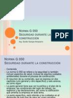 Presentación Nº 7 Norma G 050 A