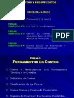 Power Point-Costos y Presupuestos Vigente a Septiembre Del 2010