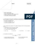 Certified Quality Engineer Problem Bank 4