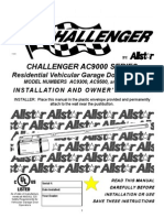 Challenger AC9000 Series Garage Door Operator