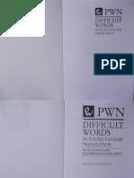 Difficult Words in Polish-English Translation - Christina Douglas Kozlowska.pdf