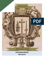 Unidad 6 La Santa Inquisición - Luisa Fernanda Gómez Ríos