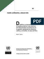 Instrumentos Economicos_Caso Peruano