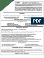 dbn teaching resume