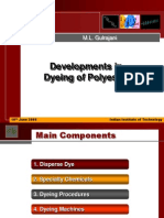 Dyeing of Polyester
