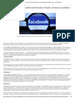 Facebook se recusa a emitir nota fiscal no Brasil, reclamam analistas de mídias sociais - ISTOÉ Dinheiro